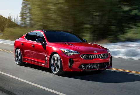 Kia S New Sport Sedan The Stinger Courtesy Of
