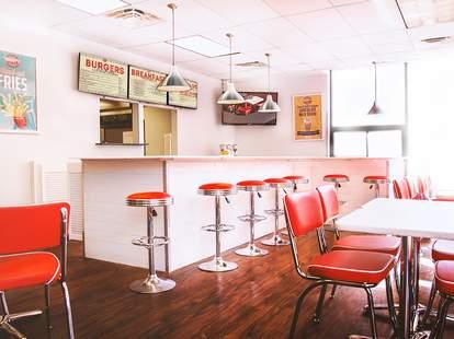 Mikkey's Retro Diner Chicago