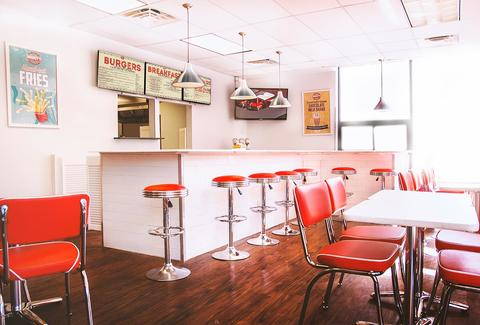 Mikkey's Retro Diner Chicago