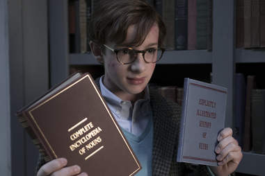 louis hynes, a series of unfortunate events