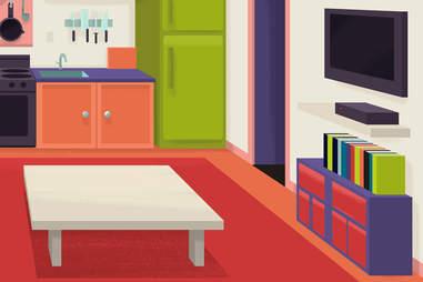 design in apartment