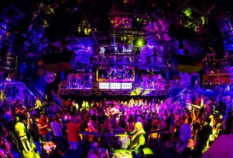 The Bank nightclub Las Vegas