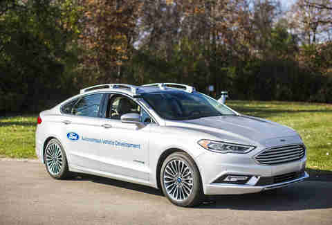 Ford's Self-Driving Focus