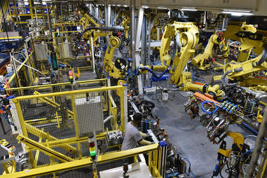 A Ford Production Plant