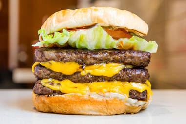 Wendy's burger