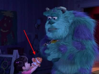 Pixar movies connected
