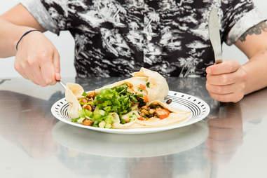 burrito unrolled