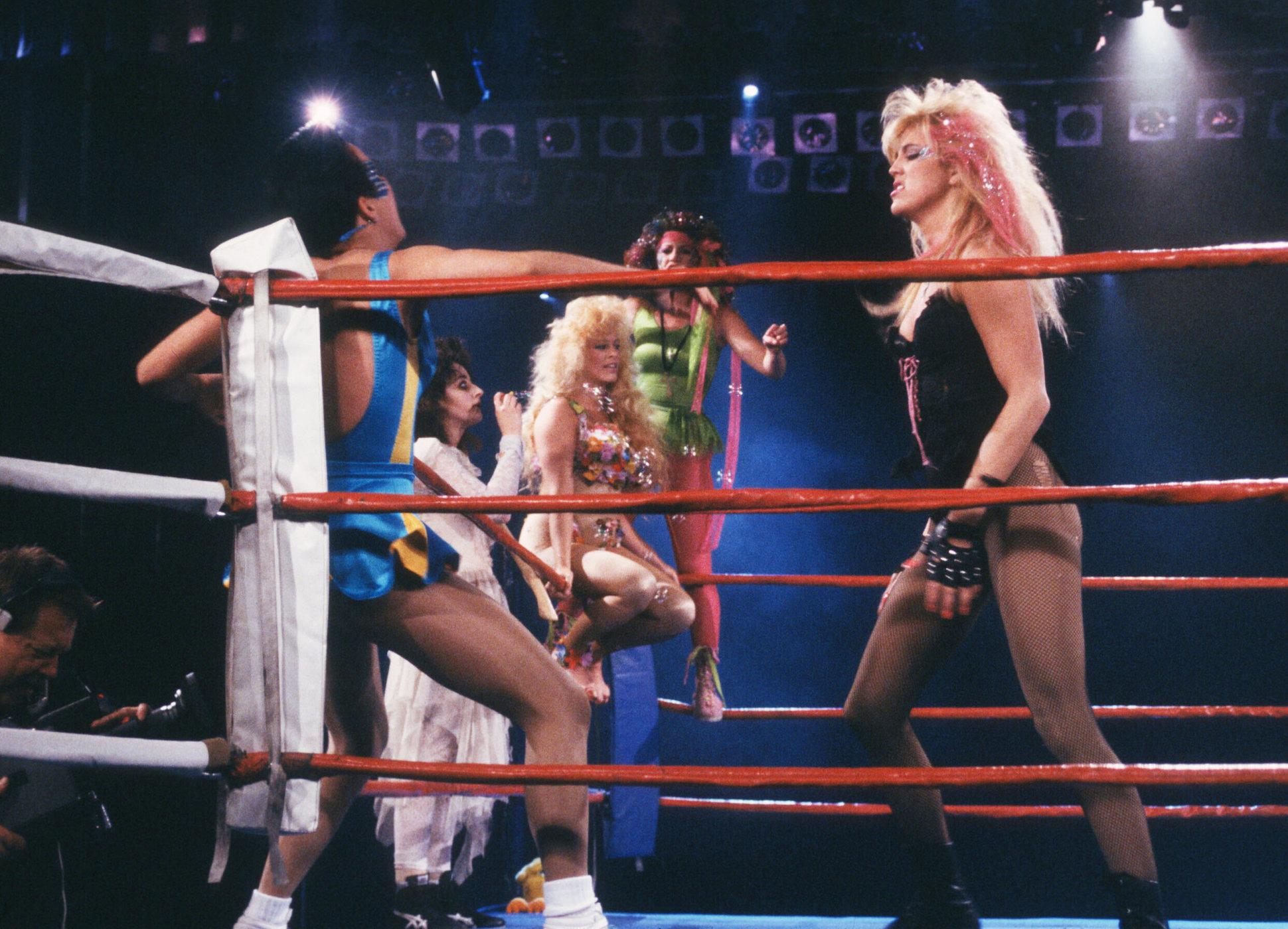 c838c70d9faed1 How GLOW Wrestling Star Jeanne Basone Makes Money From Secret Hotel Fights  - Thrillist