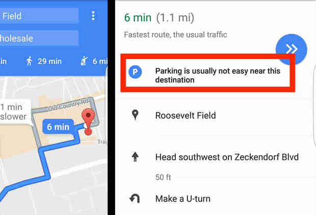 Google Maps Will Soon Help You Park Better