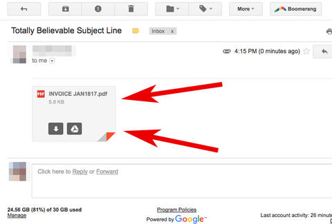 This Gmail Phishing Attack Is Disturbingly Convincing