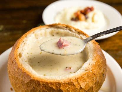 white borscht soup