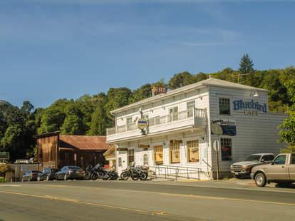 Bluebird Cafe Hopland California