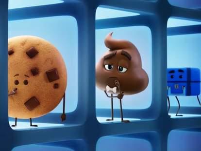 Patrick Stewart Emoji Movie