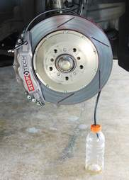 How to flush your brakes
