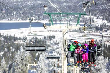 big bear mountain resort ski lift
