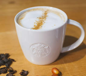 cascara latte