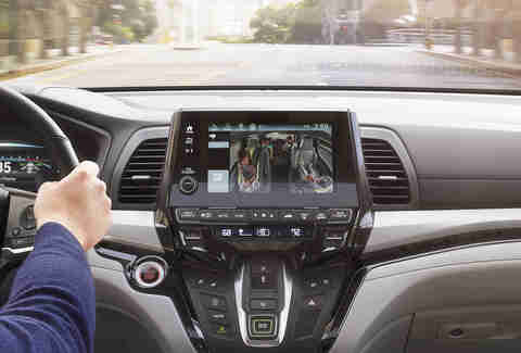 Honda Odyssey Cabinwatch