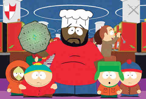 chef south park scientology