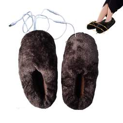 heated usb slippers