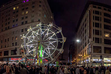 Night on Broadway, Los Angeles, Ferris Wheel
