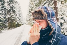 Here's Why Your Nose Runs When It's Cold Outside