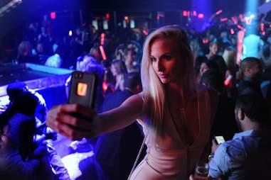 LIV selfie