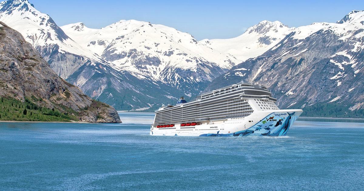 Norwegian Cruise Ship Bliss Bound For Alaska And Florida