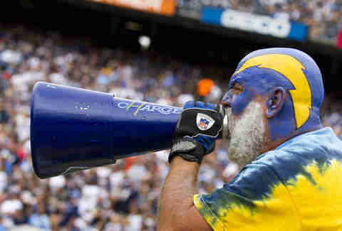 chargers superfan