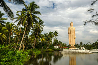 Peraliya Buddha Statue in Hikkaduwa, Sri Lanka