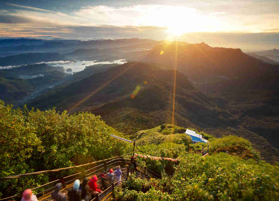 Adam's peak, Sri Lanka