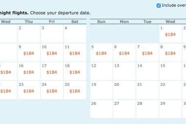 Cheap flight to Mexico