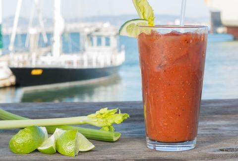 The Ramp restaurant San Francisco Dogpatch Bloody Mary