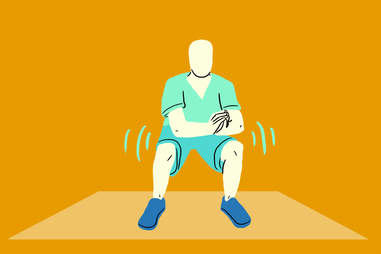 low squat pulse
