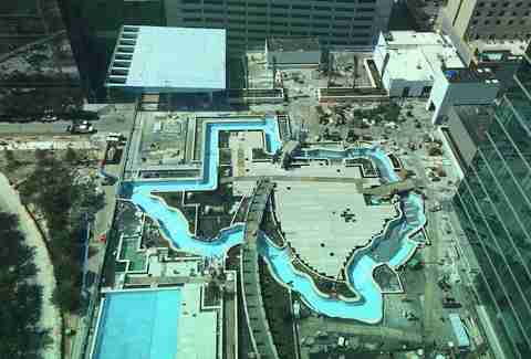 texas shaped lazy river