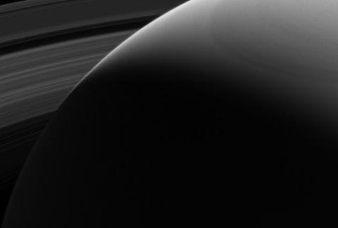 Cassini Photo from Saturn
