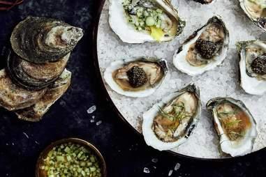 Rappahannock Oyster Bar oysters