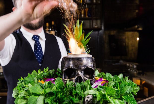 Death & Co.'s Flaming Zombie Punch Is Still an Essential NYC Cocktail