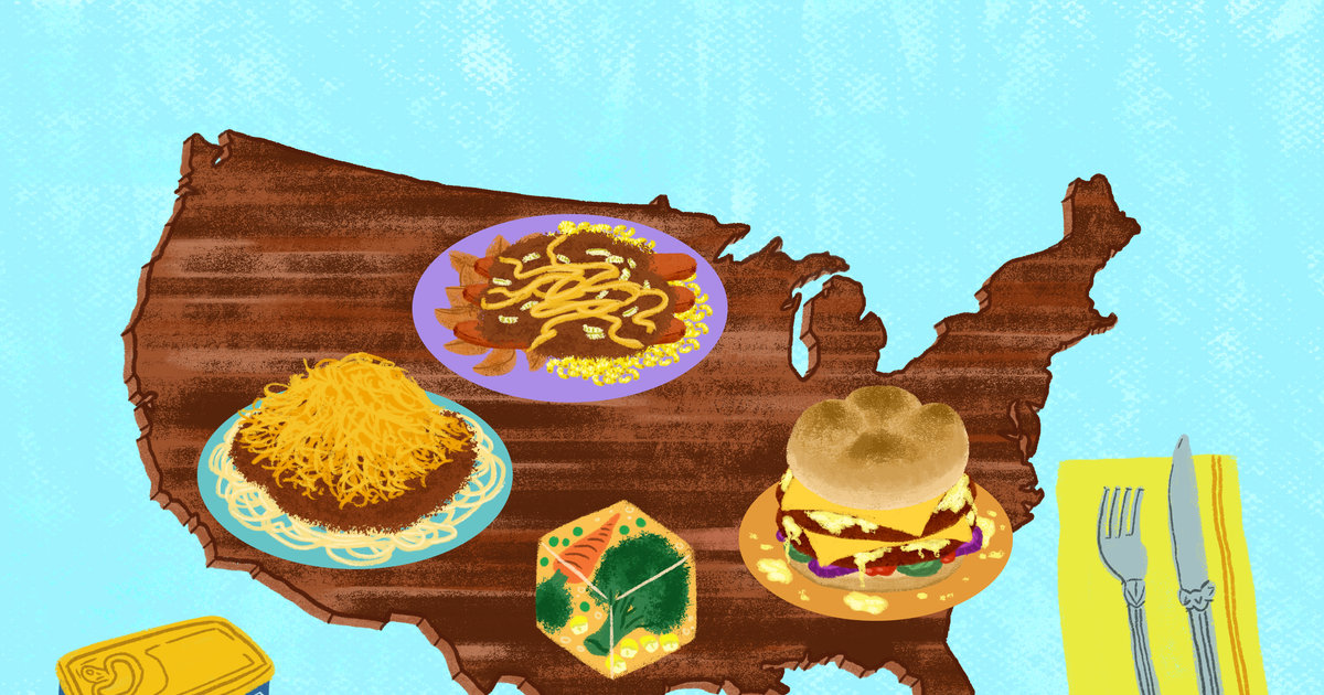 Every State's Grossest Food (That People Actually Love)