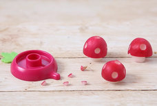 This Tiny Kitchen Gadget Turns Radishes Into 'Super Mario' Mushrooms