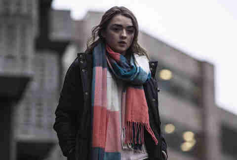 maisie williams in netflix's iboy