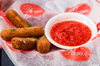 Mozzarella sticks at Parm