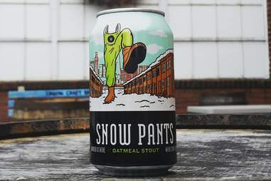 union craft beer snow pants