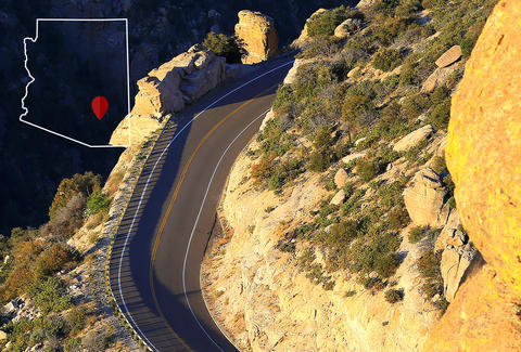 Map Of Highway 87 Arizona.Arizona S Best Drives To Test Your Ability Thrillist