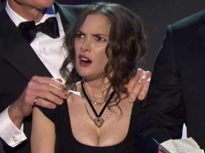 Winona Ryder Stranger Things SAG Awards