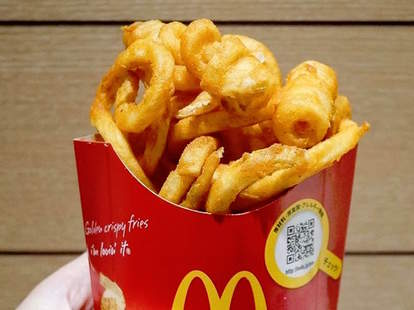 McDonalds Curly Fries