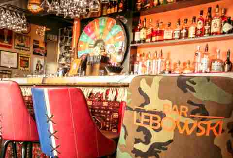 Big Lebowski Themed Bar in Iceland