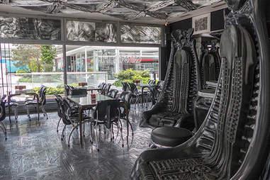 H. R. Giger Bar in Switzerland