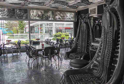 H. R. Giger Bar in Switzerland
