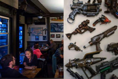 Nerd bar in Vancouver Canada