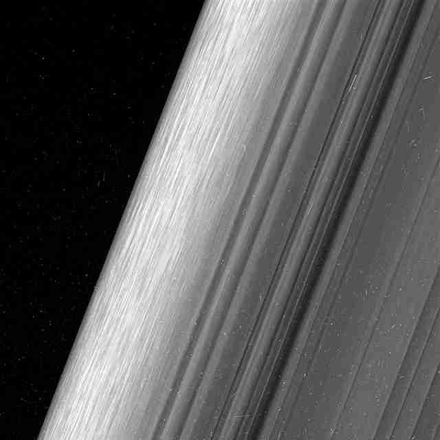 Photos of Saturn's rings